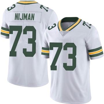 Youth Nike Green Bay Packers Yosh Nijman White Vapor Untouchable Jersey - Limited