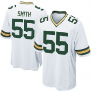 Youth Nike Green Bay Packers Za'Darius Smith White Jersey - Game