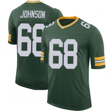 Youth Nike Green Bay Packers Zack Johnson Green 100th Vapor Jersey - Limited